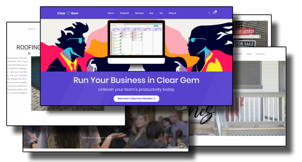 Clear Gem Website App